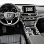 2019 Honda Accord Coupe Interior Design