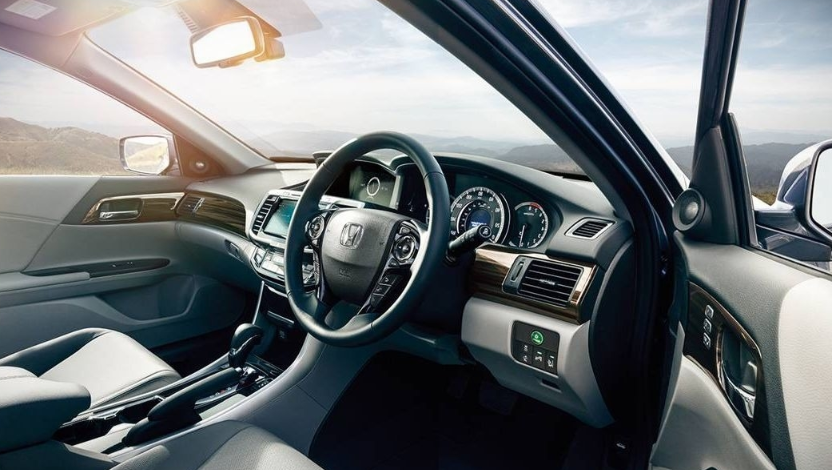 2019 honda accord hybrid interior design