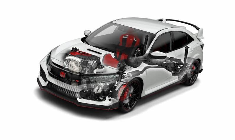 2019 Honda Civic Type R Engine