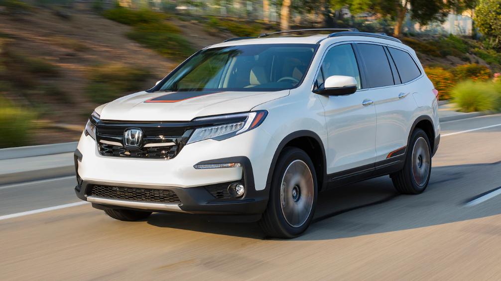 2019 Honda Pilot Exterior Changes