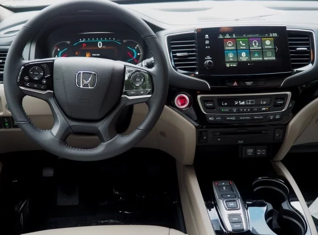 2019 Honda Pilot Interior Update