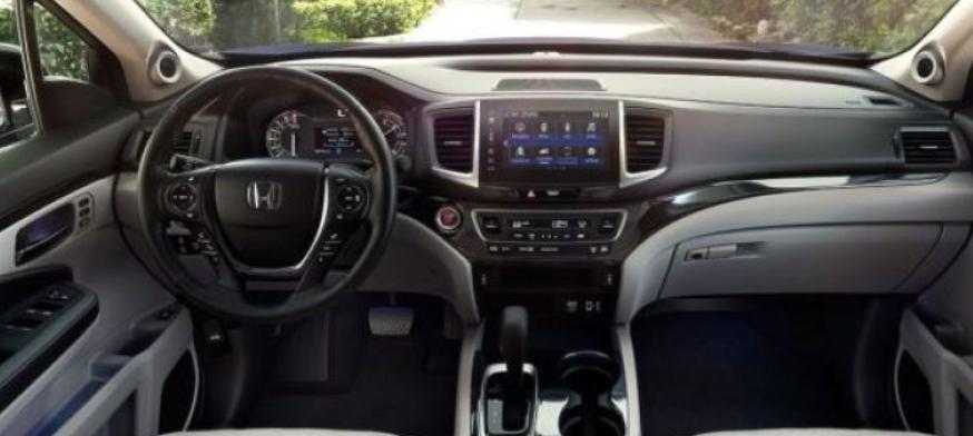 2019 Honda Ridgeline Interior Update