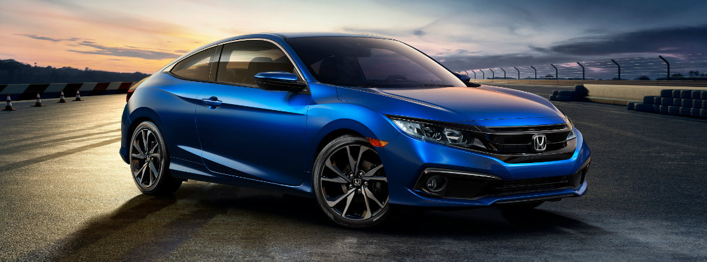 Honda Civic Coupe Ex T Changes on Light Blue Elantra