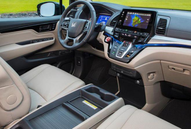 2019 Honda Odyssey Touring Interior | Honda Engine Info