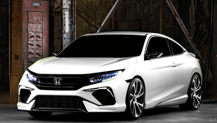 2020 Honda Civic Si Coupe Automatic Redesign Honda