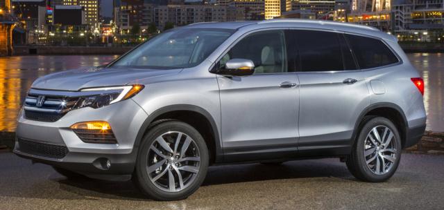 2018 Ford Explorer Release Date >> 2020 Honda Pilot EX-L Interior | Honda Engine Info